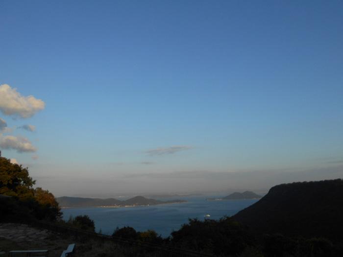 朝ヨガ(@屋島山上) の様子 2